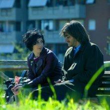 Tutti i santi giorni: i due innamorati Thony e Luca Marinelli in una scena del film di Paolo Virzì