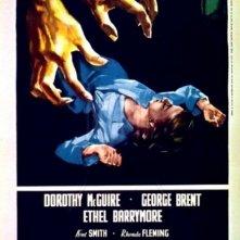 Locandina italiana del film La scala a chiocciola (1945)