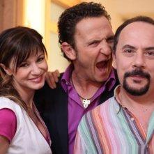 E io non pago: Maurizio Casagrande sul set con Cosetta Turco ed Enzo Salvi