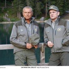 Un passo dal cielo 2: Terence Hill e Francesco Salvi nella fiction Rai
