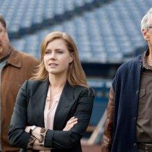 Clint Eastwood con Amy Adams e John Goodman in una scena di Di nuovo in gioco