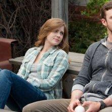 Di nuovo in gioco: Amy Adams insieme a Justin Timberlake in una scena del film
