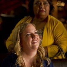 Go On: Sarah Baker e Tonita Castro nell'episodio Big League Chew