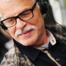 Il cecchino: il regista Michele Placido in un bel primo piano