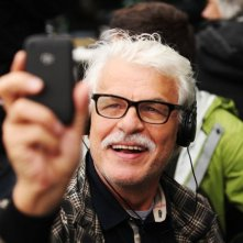 Il cecchino: il regista Michele Placido sul set del film