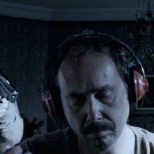 Il cecchino: Mathieu Kassovitz in una scena del film con Olivier Gourmet