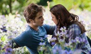 Robert Pattinson e Kristen Stewart in una bella scena di The Twilight Saga: Breaking Dawn - Parte 2