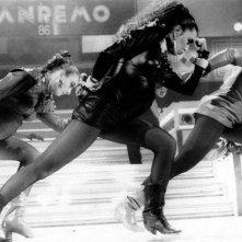 Sanremo 1986, Loredana Bertè presenta il brano 'Re' con un look che fa scalpore
