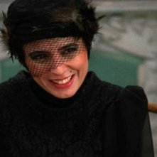 The last step: Leila Hatami sorridente in una scena del film