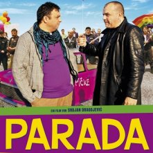 The Parade: la locandina tedesca del film