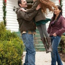 Twilight Saga: Breaking Dawn - Parte 2, Billy Burke, Alex Rice e Mackenzie Foy in una scena