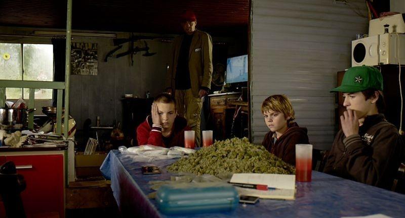 Un Estate Da Giganti I Tre Protagonisti Del Film In Una Scena Con Didier Toupy 253968