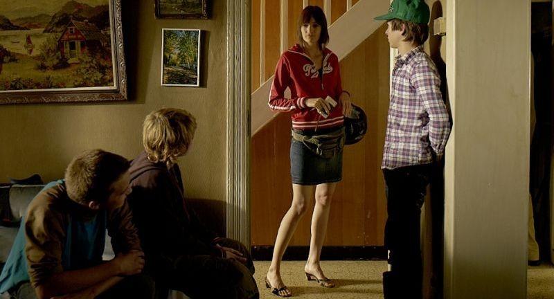 Un Estate Da Giganti I Tre Protagonisti Del Film In Una Scena Con Gwen Berrou 253969
