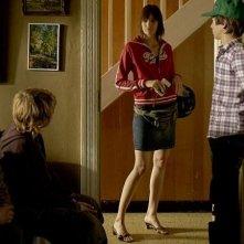 Un'estate da giganti: i tre protagonisti del film in una scena con Gwen Berrou