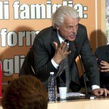 Viva l'Italia: Ambra Angiolini, Michele Placido e Alessandro Gassman in una scena