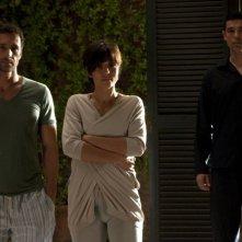 Viva l'Italia: Ambra Angiolini, Raoul Bova e Alessandro Gassman in una scena