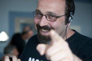 Viva l'Italia: il regista Massimiliano Bruno sorridente in una foto promozionale
