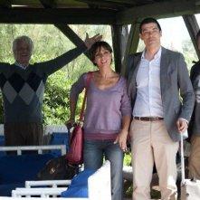 Viva l'Italia: la famiglia Spagnolo al completo in una scena del film