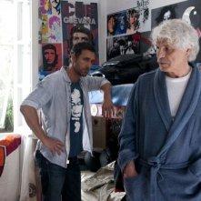 Viva l'Italia: Raoul Bova e Michele Placido sono padre e figlio in una scena