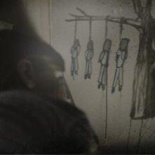 Sinister: disegni inquietanti una scena del film