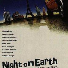 Taxisti di notte: locandina americana