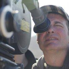 The Parade: il regista del film Srđan Dragojević sul set