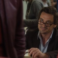 Au Galop: Louis-Do de Lencquesaing in una scena del film francese