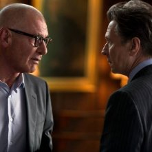 Harrison Ford e Gary Oldman si confrontano in una scena di Paranoia