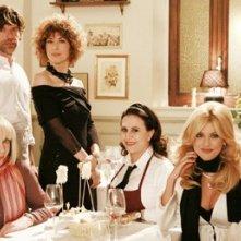 Veronica Pivetti, Daniela Terreri, Micol Azzurro, Lia Tanzi ne La ladra