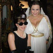 Veronica Pivetti, Daniela Terreri sul set de La ladra