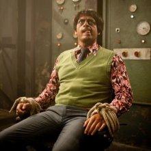 Agent Ranjid rettet die Welt: Prashant Prabhakar in una scena