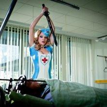 Birte Glang infermiera supersexy (e letale) nel film Agent Ranjid rettet die Welt