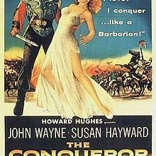 Il conquistatore: la locandina del film