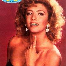 Milly Carlucci sulla cover di Tv Sorrisi e Canzoni per Risatissima (1984)