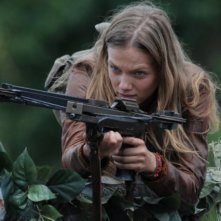 Revolution: Tracy Spiridakos in un momento dell'episodio No Quarter