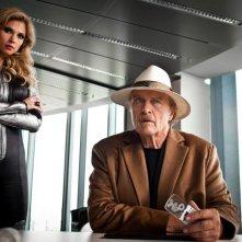 Rutger Hauer con Birte Glang nel film Agent Ranjid rettet die Welt
