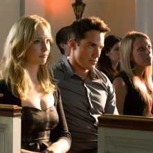 The Vampire Diaries: Michael Trevino e Candice Accola nell'episodio Memorial