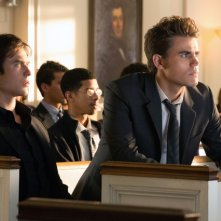 The Vampire Diaries: Paul Wesley e Ian Somerhalder nell'episodio Memorial