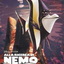 Alla ricerca di Nemo in 3D: il character poster italiano di Branchia
