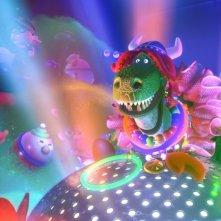 Non c'è festa senza Rex: un'immagine tratta dal corto Pixar