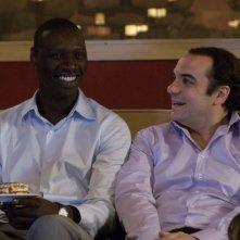 Troppo amici: François-Xavier Demaison con Omar Sy in una scena del film