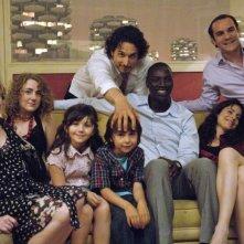 Troppo amici: il cast al completo sul set