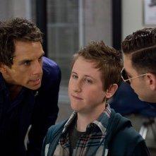 Vicini del terzo tipo: Ben Stiller, Johnny Pemberton e Jonah Hill in una scena