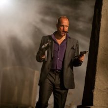 Woody Harrelson in una scena di 7 psicopatici