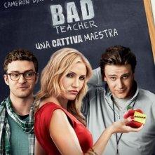 Bad Teacher: una cattiva maestra - Locandina italiana