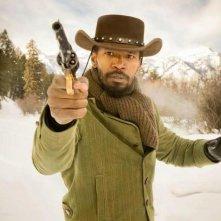 Jamie Foxx nei panni di Django in Django Unchained