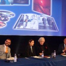 Rutger Hauer alla presentazione del Blu-Ray del trentennale di Blade Runner nel corso della manifestazione I've Seen Films