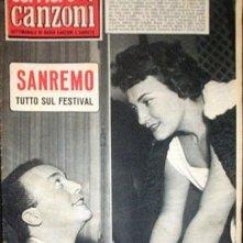 Sanremo 1958 - Nilla Pizzi e Gino Latilla sulla copertina di Tv Sorrisi e Canzoni