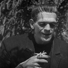 Frankenstein: Boris Karloff in una sequenza del film