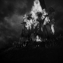 Frankenstein: una scena drammatica del film